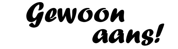Gewoon aans logo